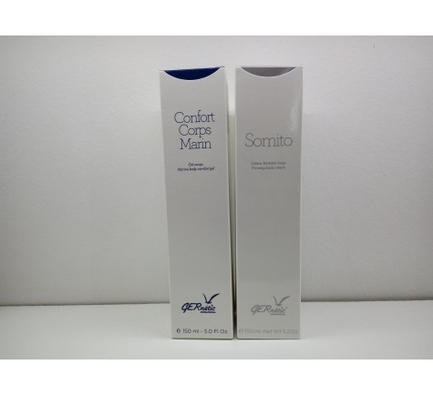 PACK GERNETIC SOMITO 150ml + CONFORT CUERPO MARINO 150ml