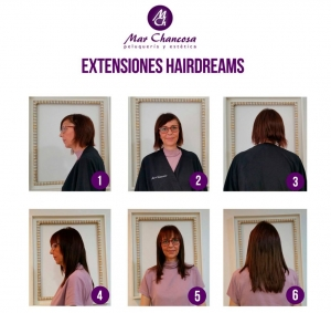 Extensiones hairdreams 11