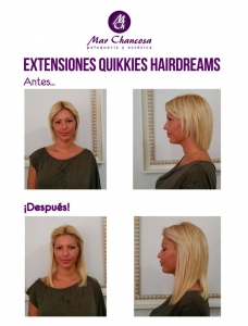 Extensiones hairdreams 12