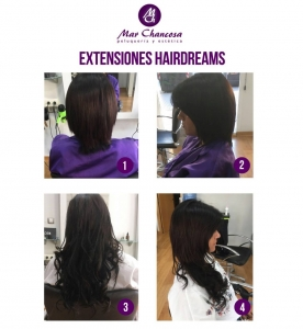Extensiones hairdreams 15