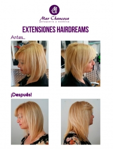 Extensiones hairdreams 6