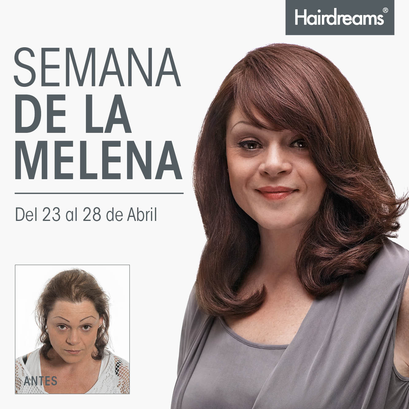 Semana de la melena Hairdreams Microlinea 2018